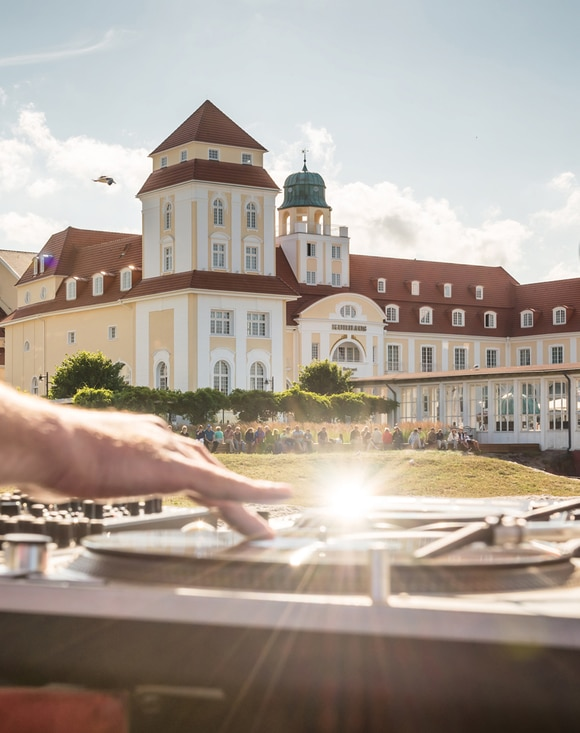 Foto: DJs am Strand (Mirko Boy)
