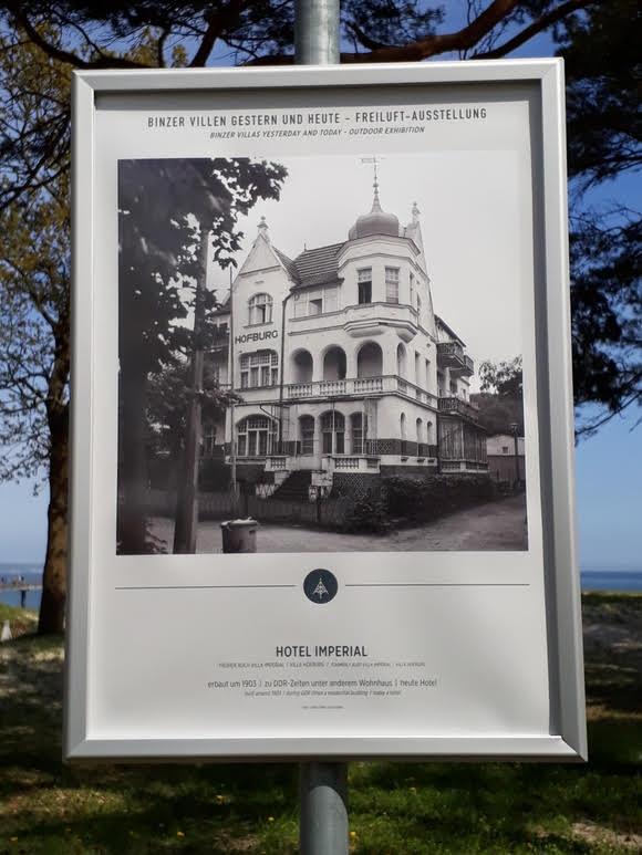 Foto: Schautafel an der Promenade (Kurverwaltung Binz)