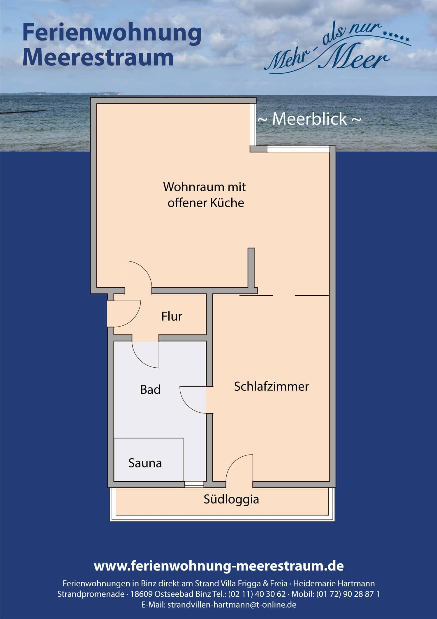 ferienwohnung meerestraum ferienwohnungen strandvillen auf r gen. Black Bedroom Furniture Sets. Home Design Ideas